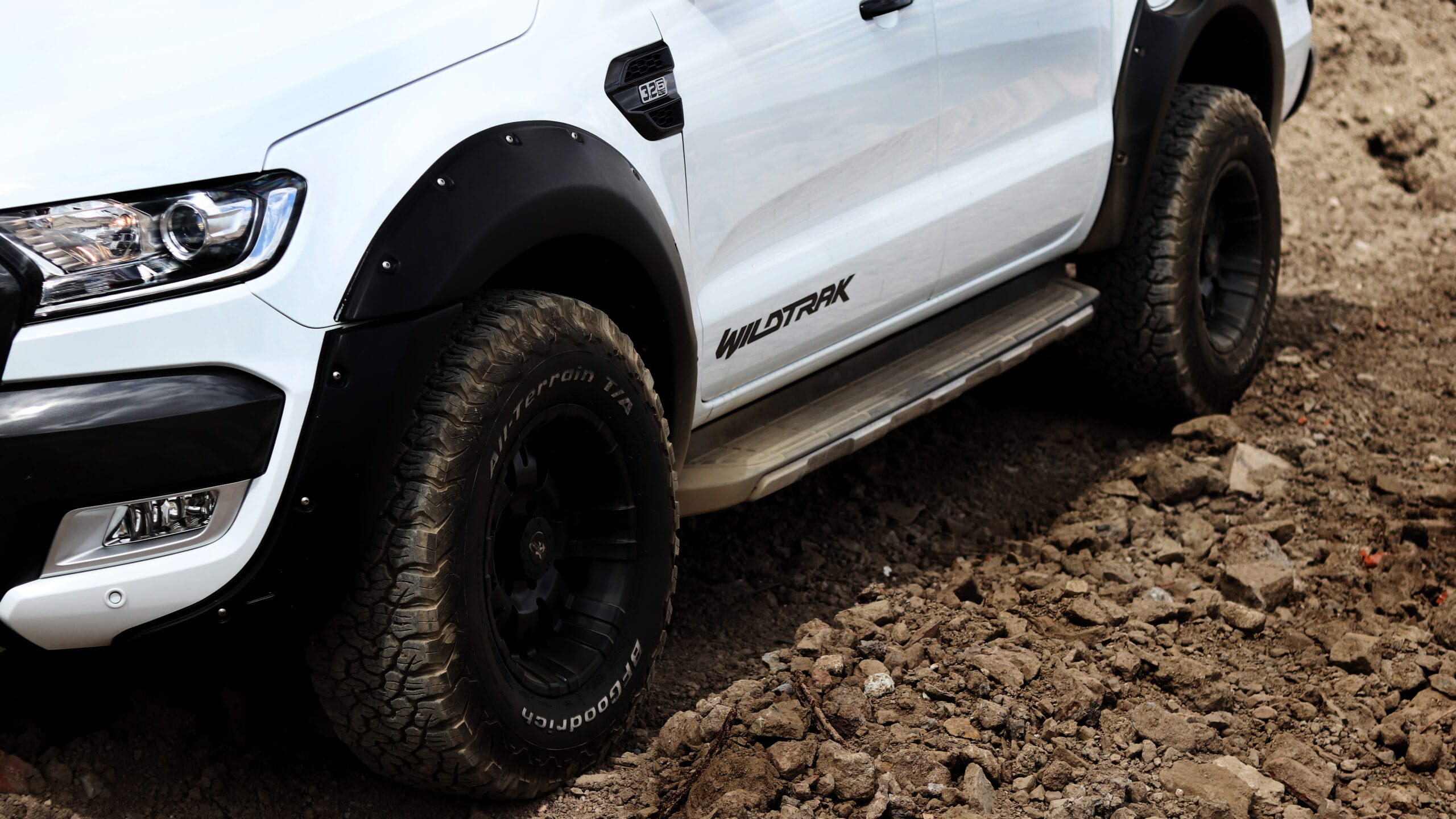 Ford Ranger Wildtrak - test vozu