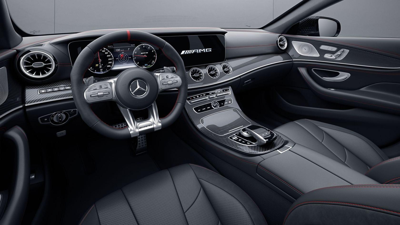 Mercedes-AMG CLS 53 interiér