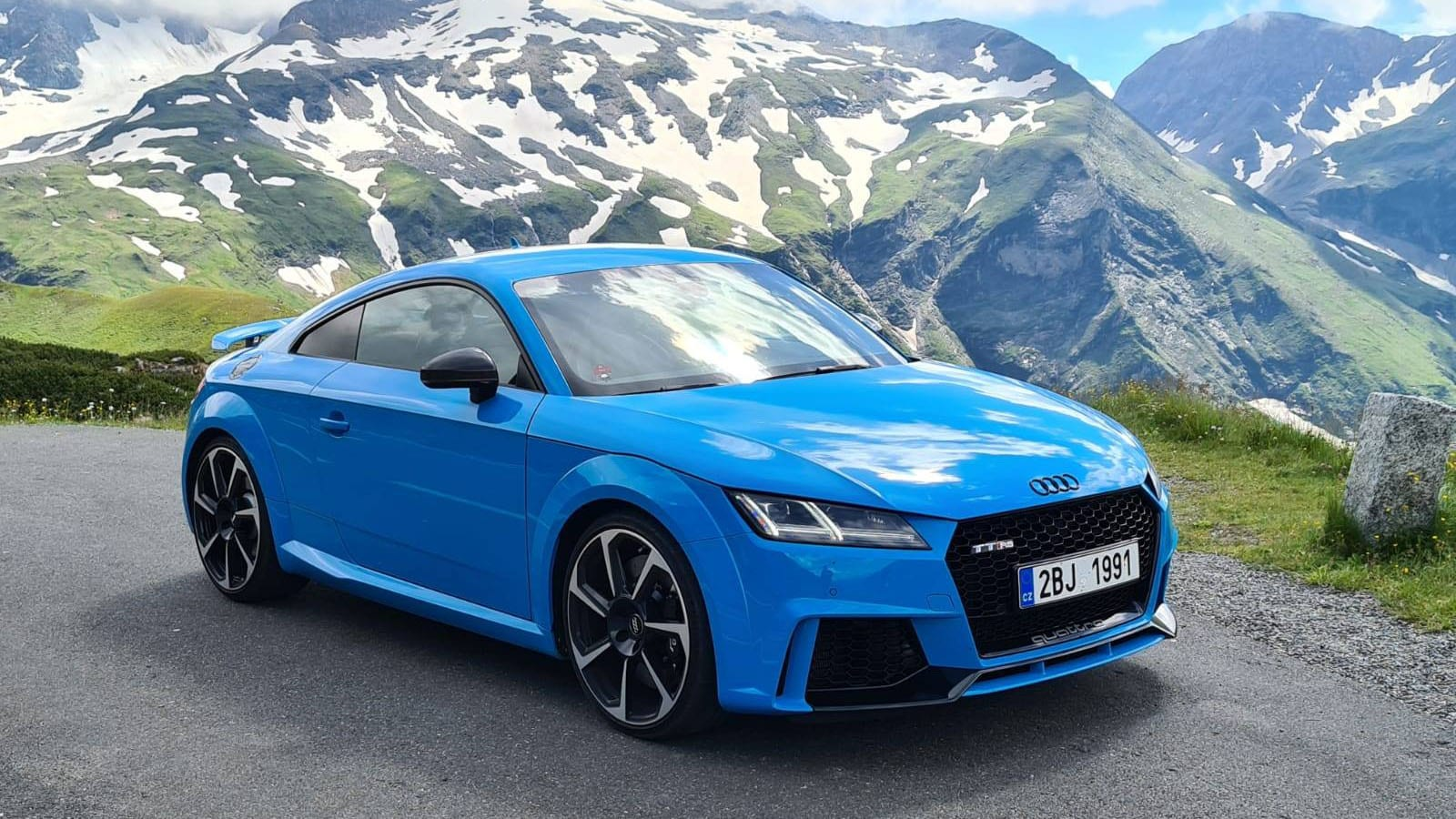 100-200 km/h: Audi TT RS RSR-Performance Stage 2