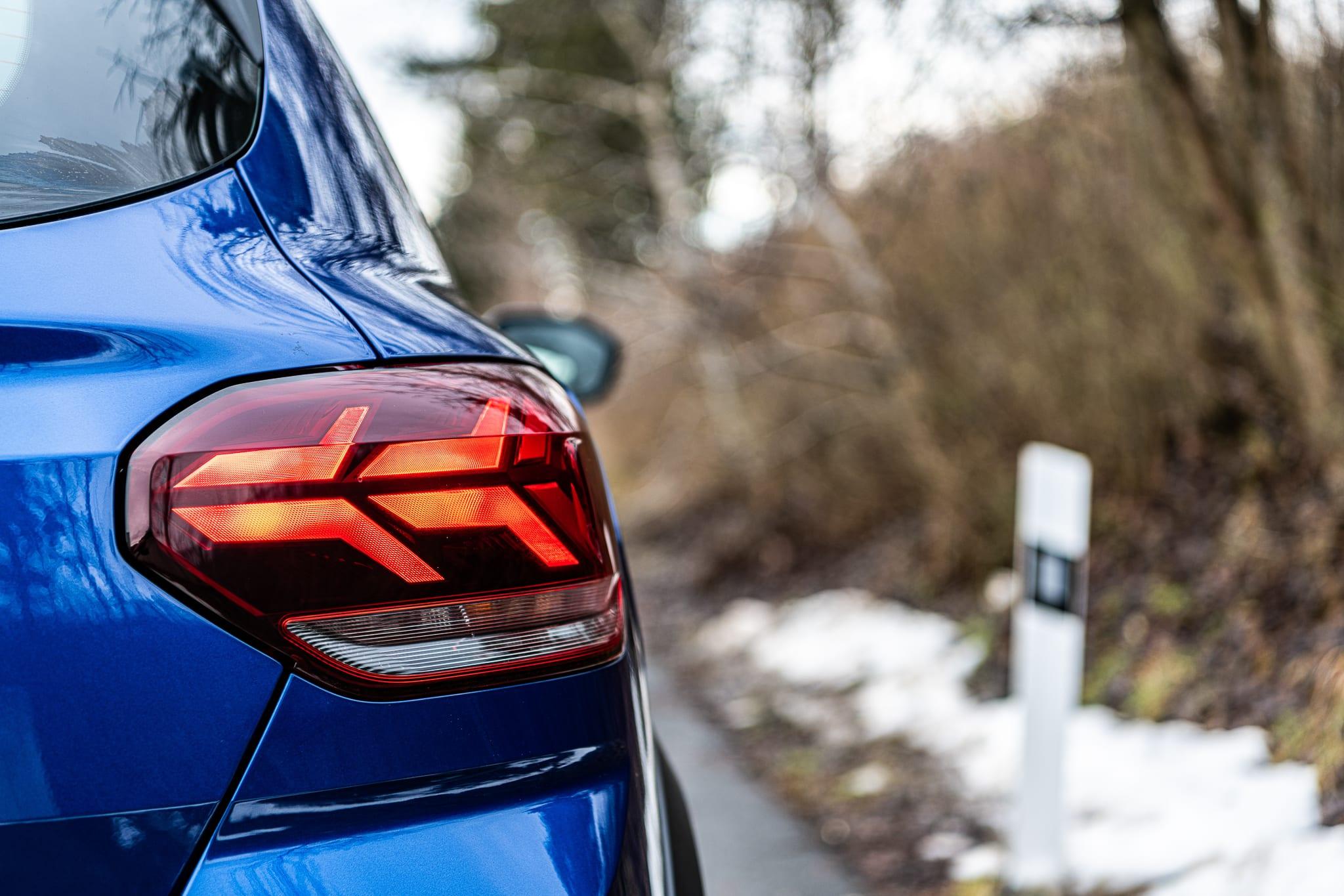 Dacia Sandero světlo