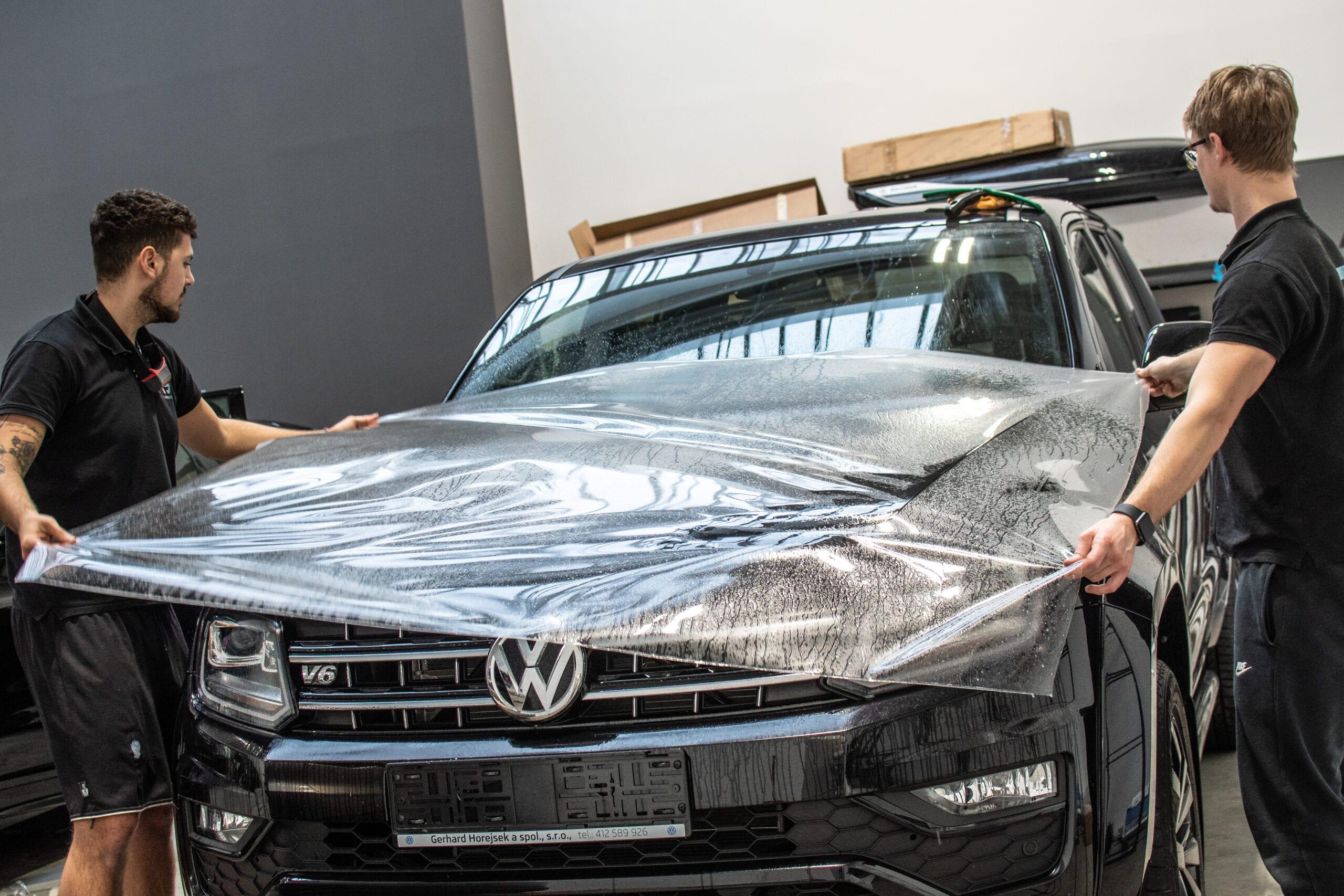VW Amarok realizace PPF polepu