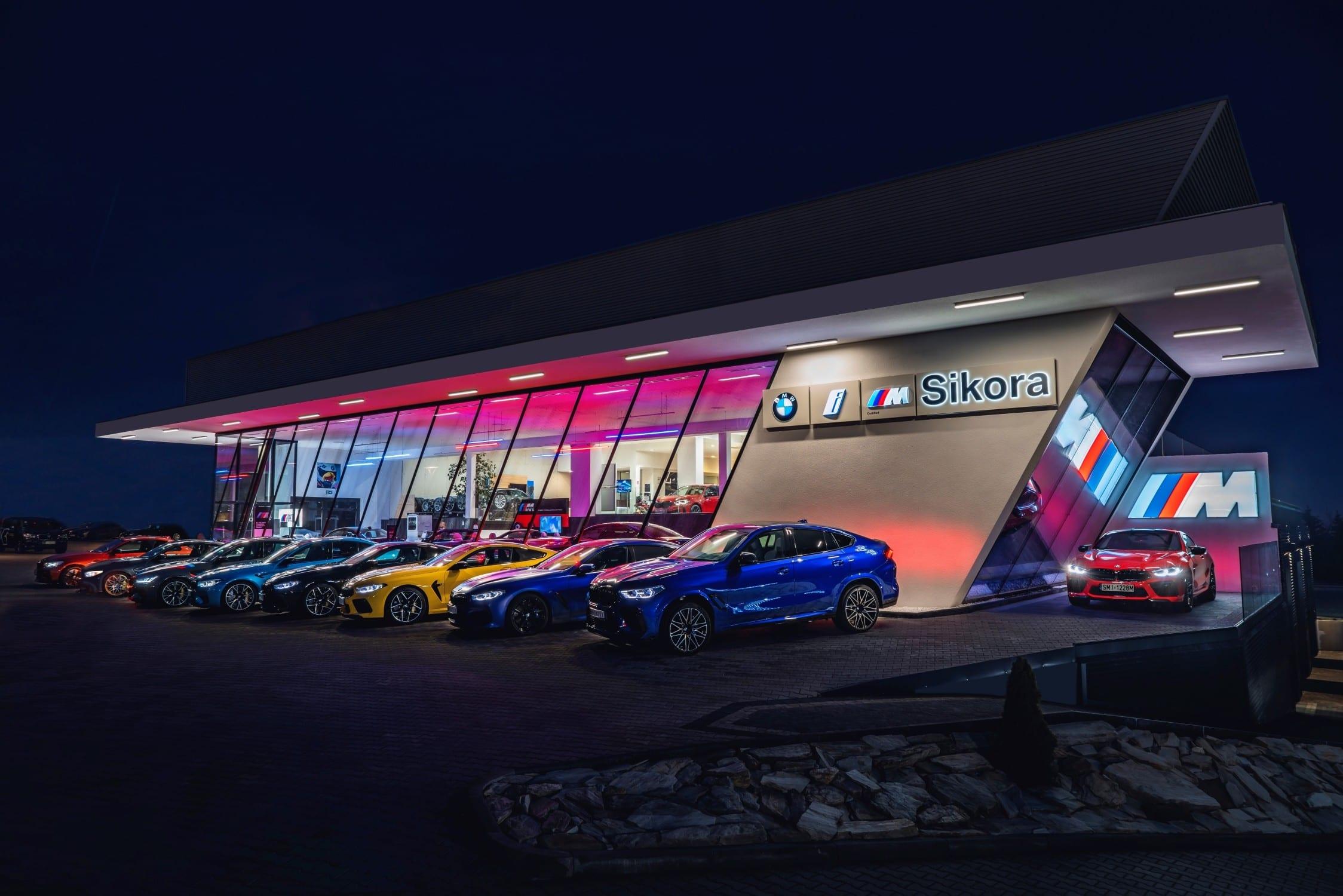 BMW M autosalon
