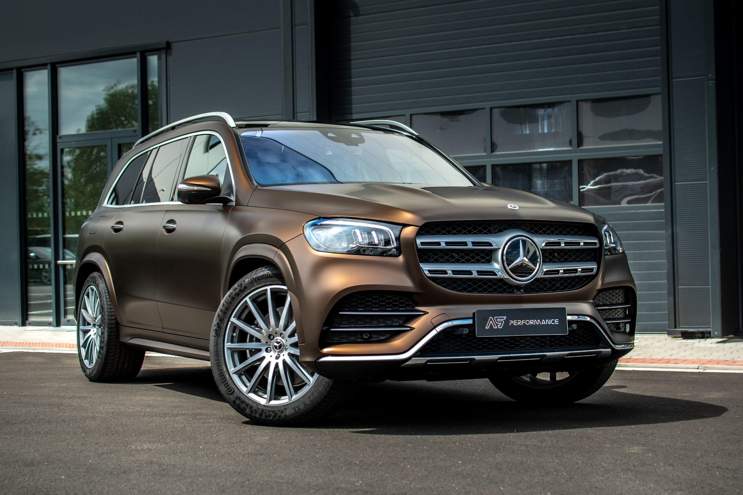 Mercedes Benz GLS celopolep