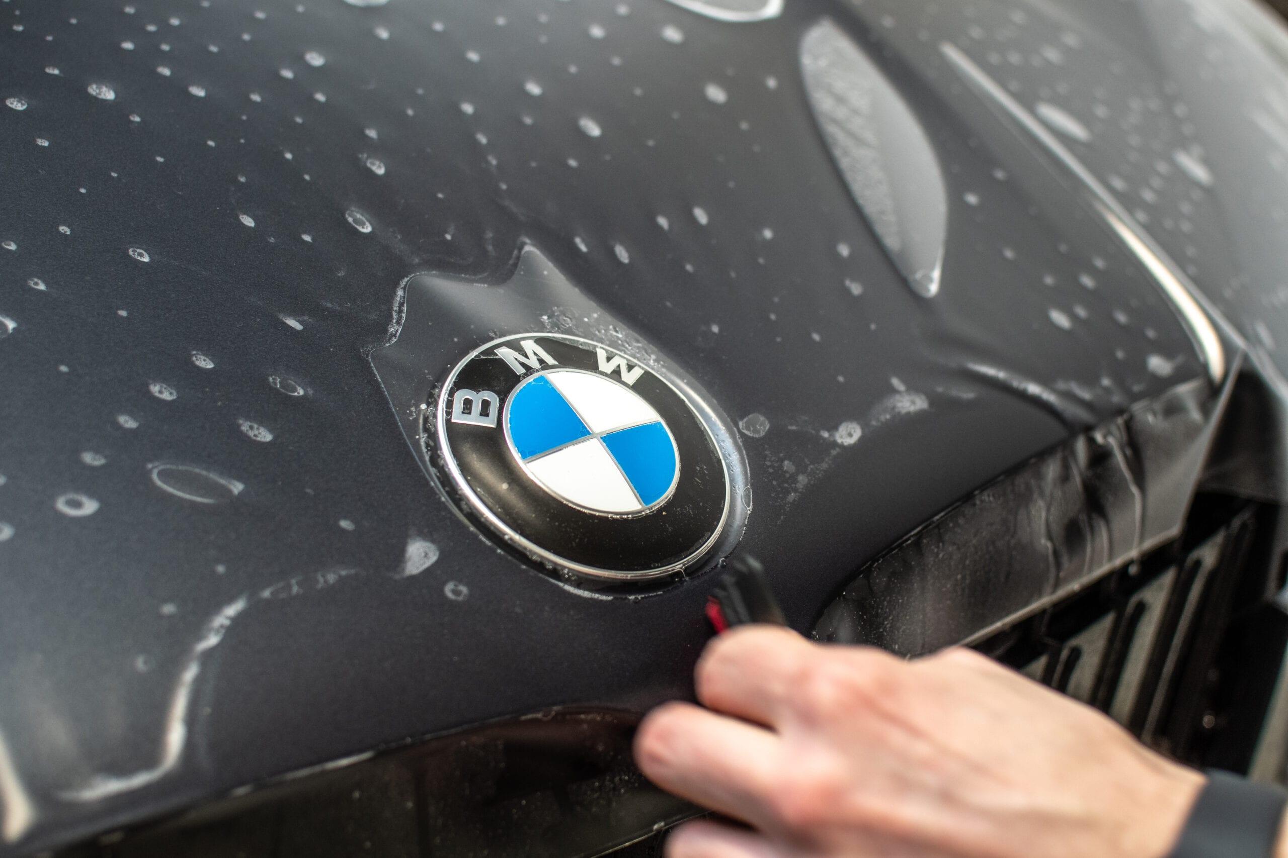 Matný PPF polep BMW X7