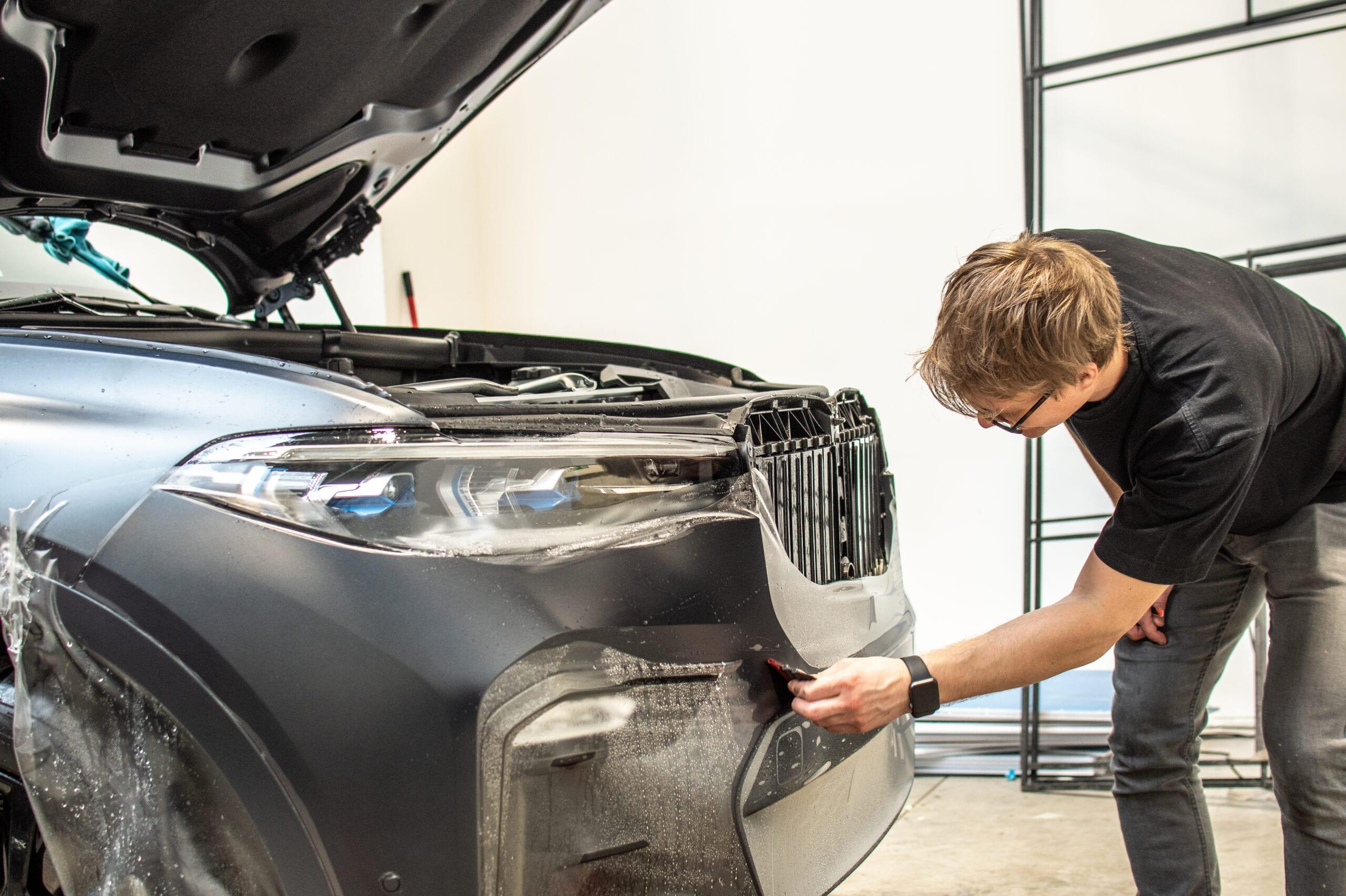 BMW X7 PPF polep
