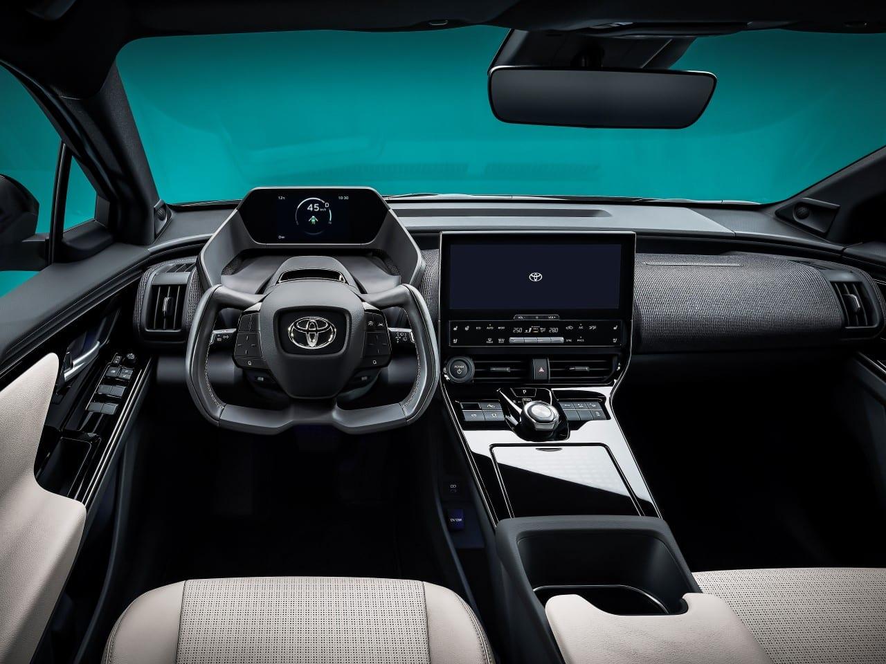 Toyota interier