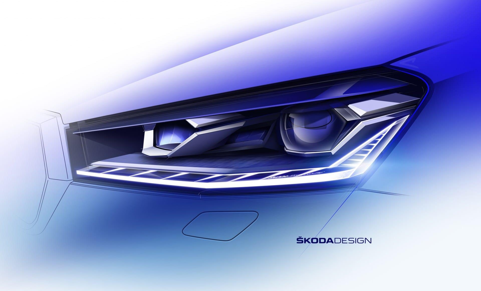 Škoda Fabia 2021 skica