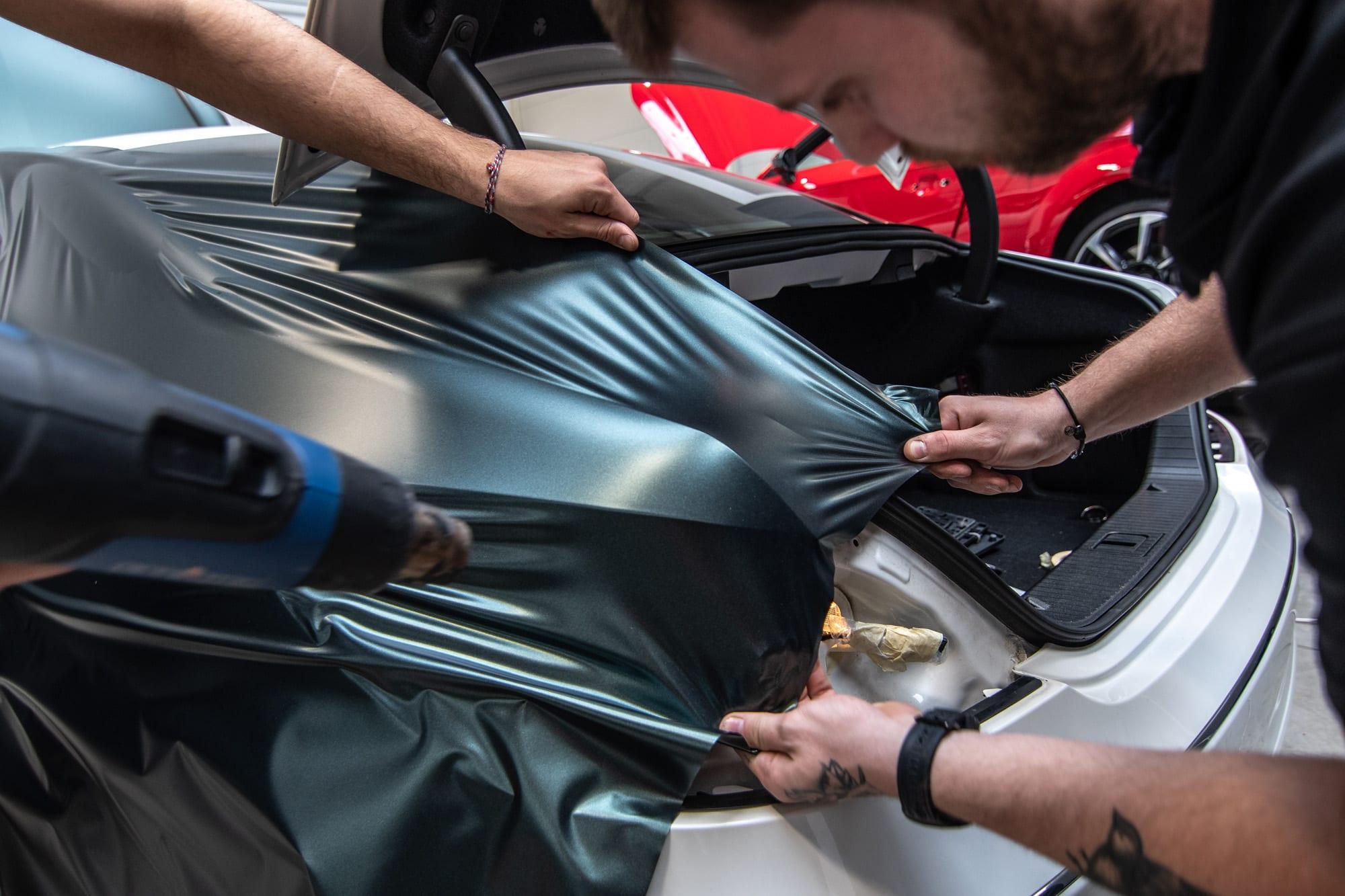 Mercedes Benz CLS wrap