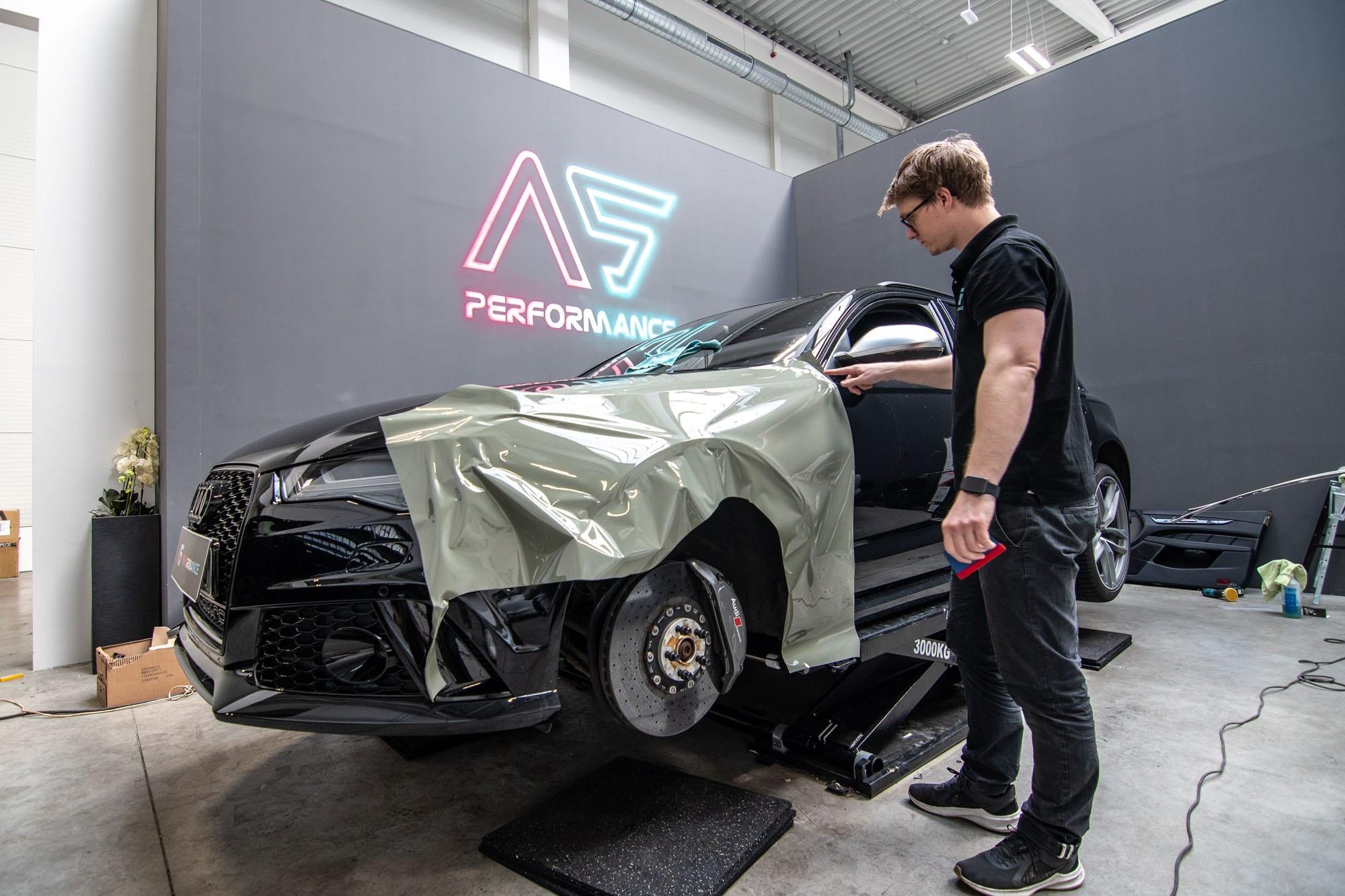 Audi RS6 v AS Performance