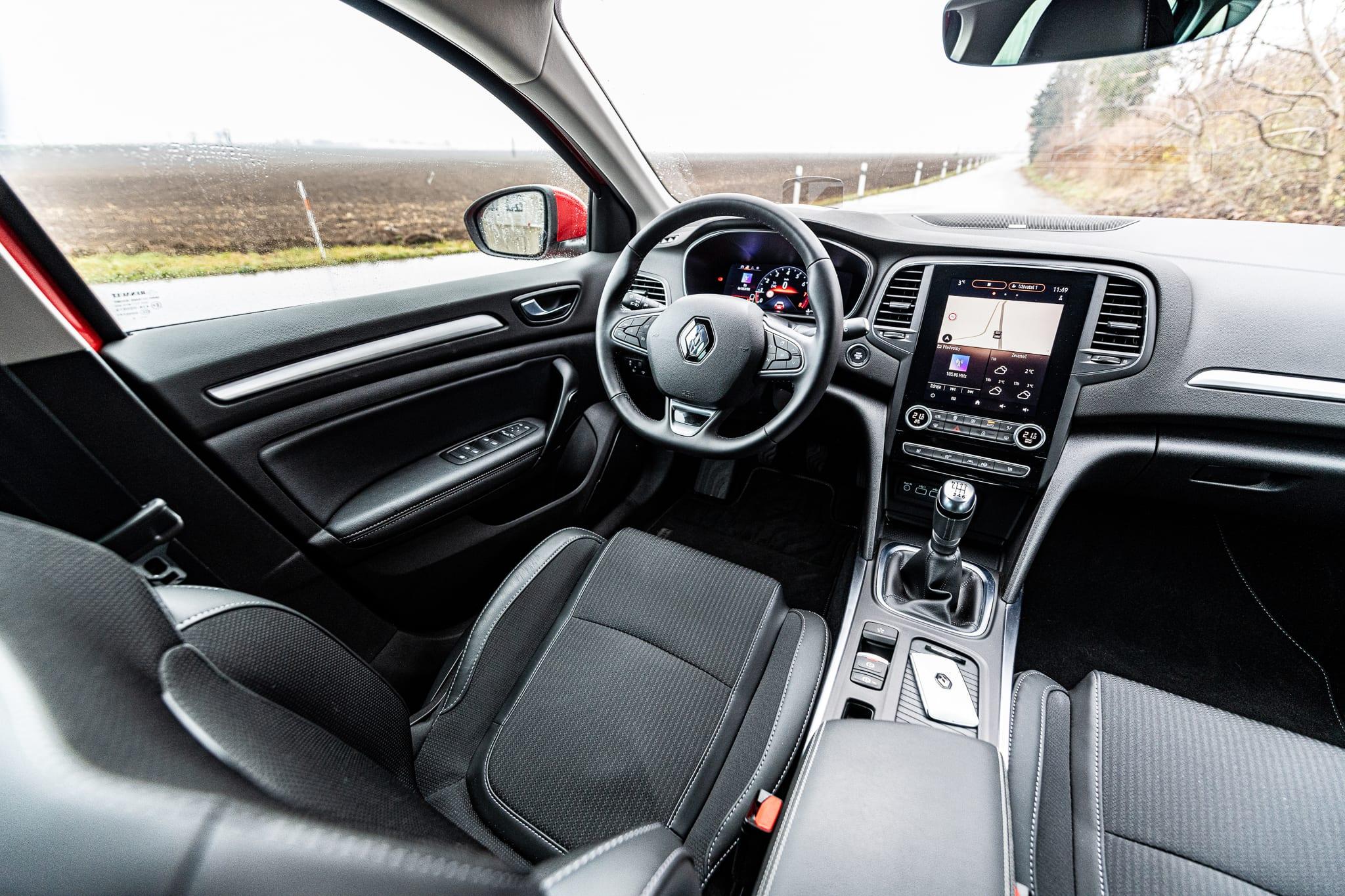 Renault Megane Grandtour interiér