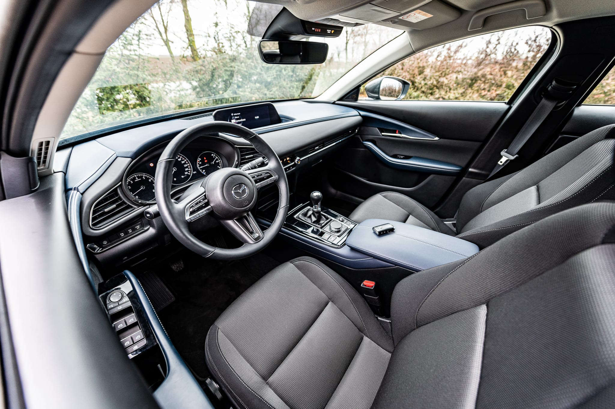 Mazda CX-30 interiér