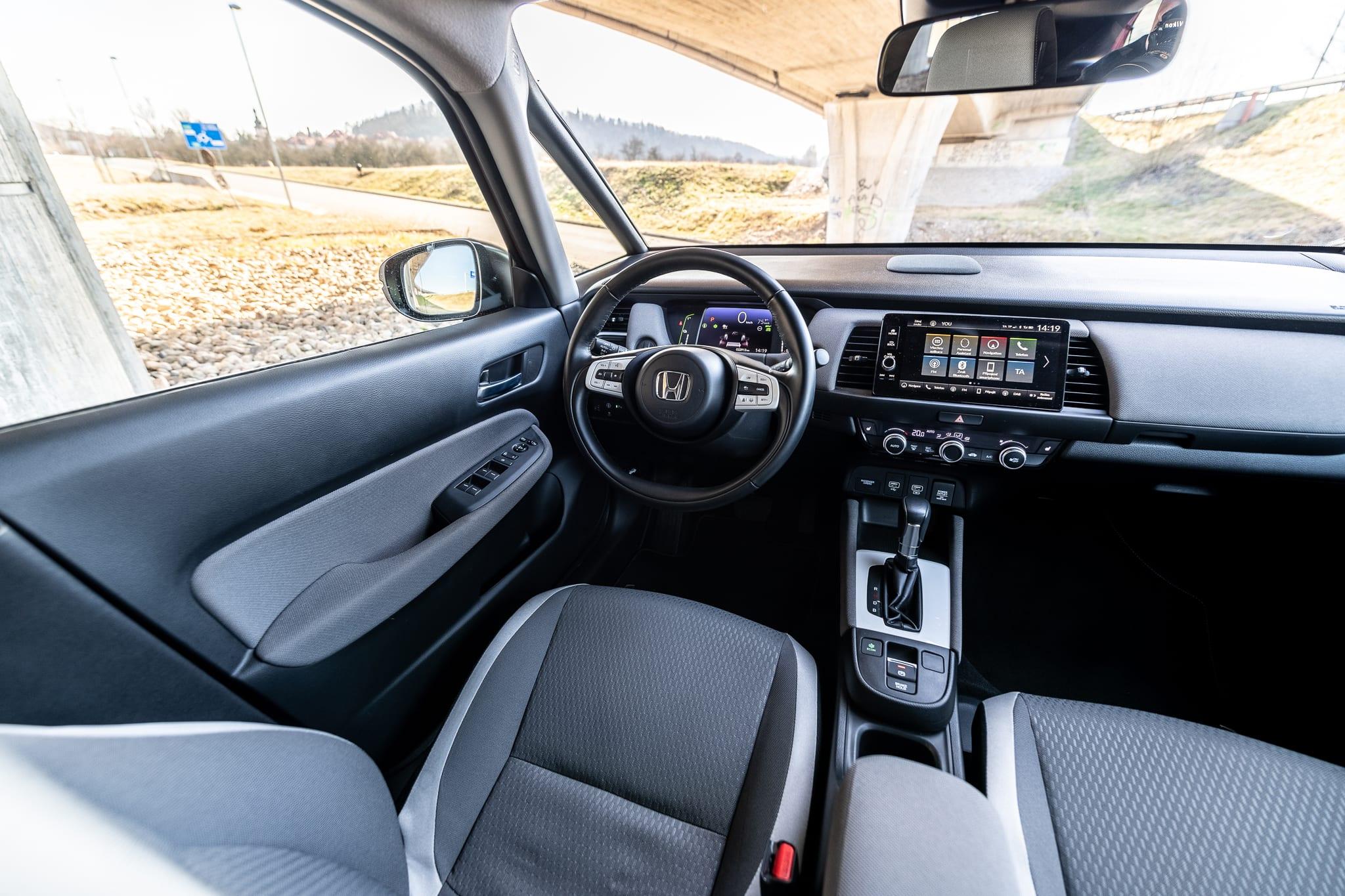 Honda Jazz Crosstar interiér