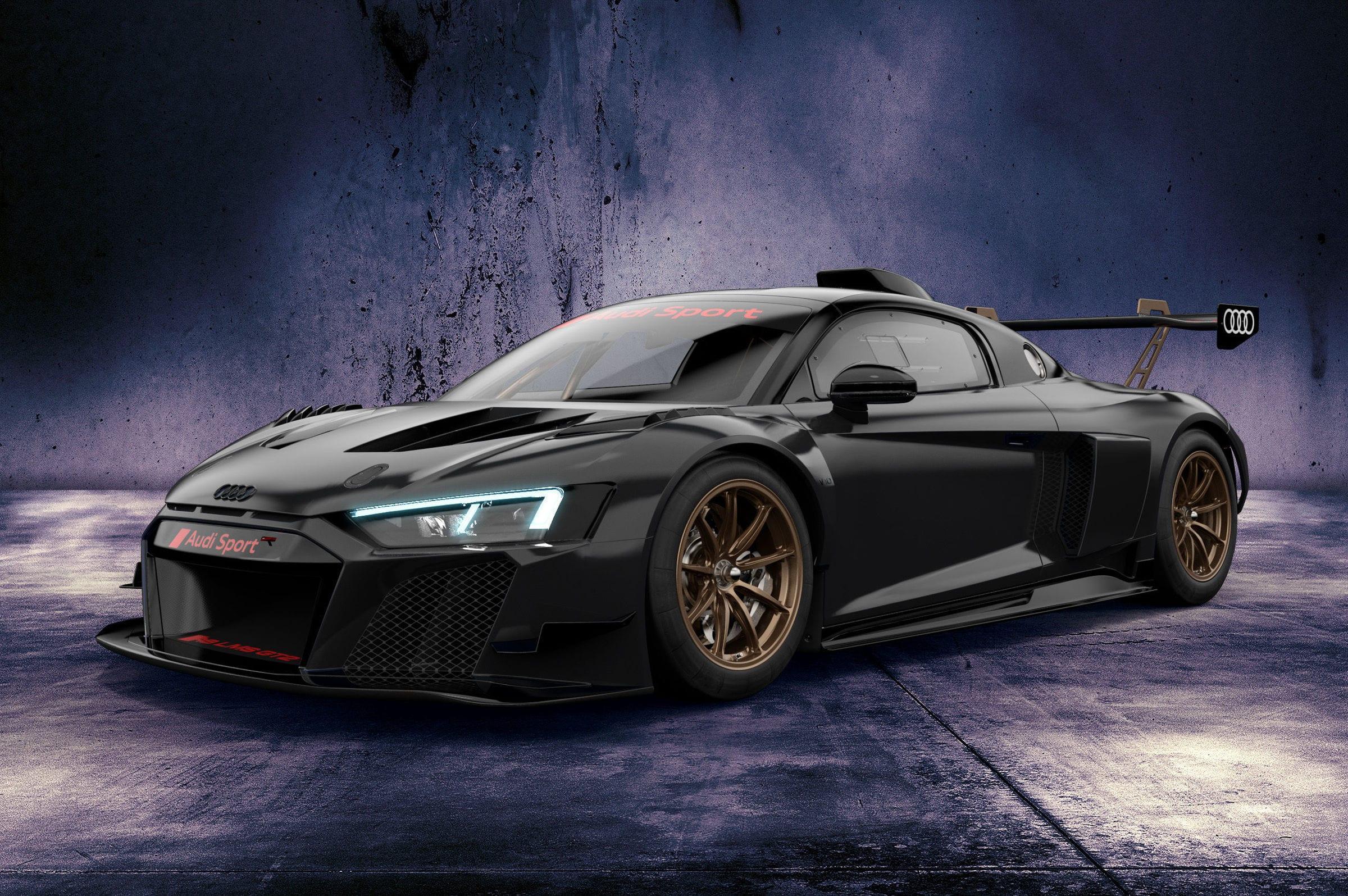 Audi R8 LMS GT2 Sebring black