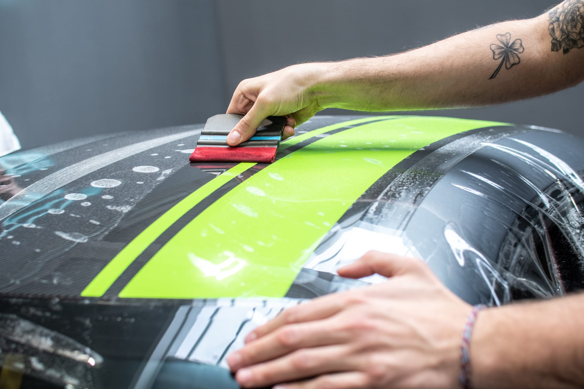 Mercedes-AMG GT R PRO polep vozu PPF folie