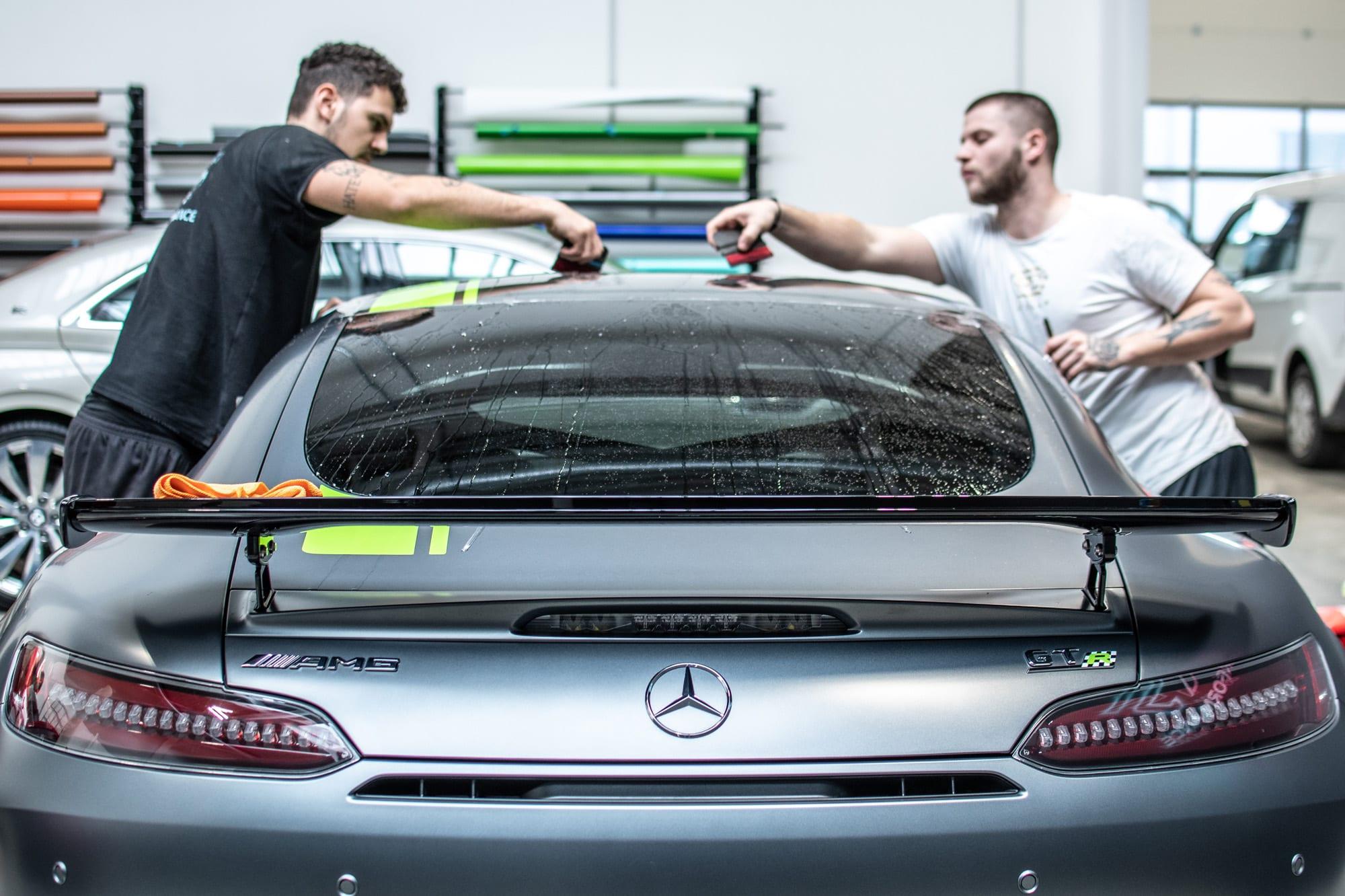 Mercedes-AMG GT R PRO polep vozu