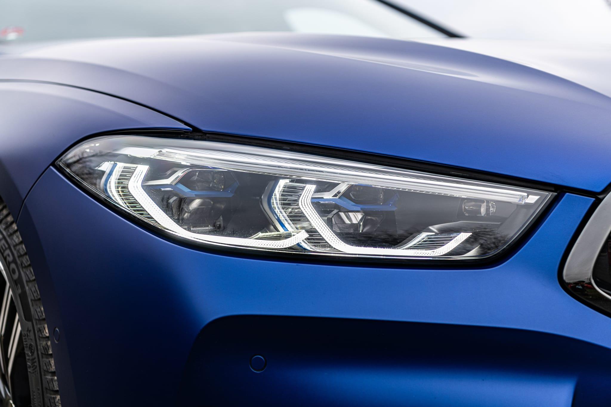 BMW 840d Gran Coupé světla