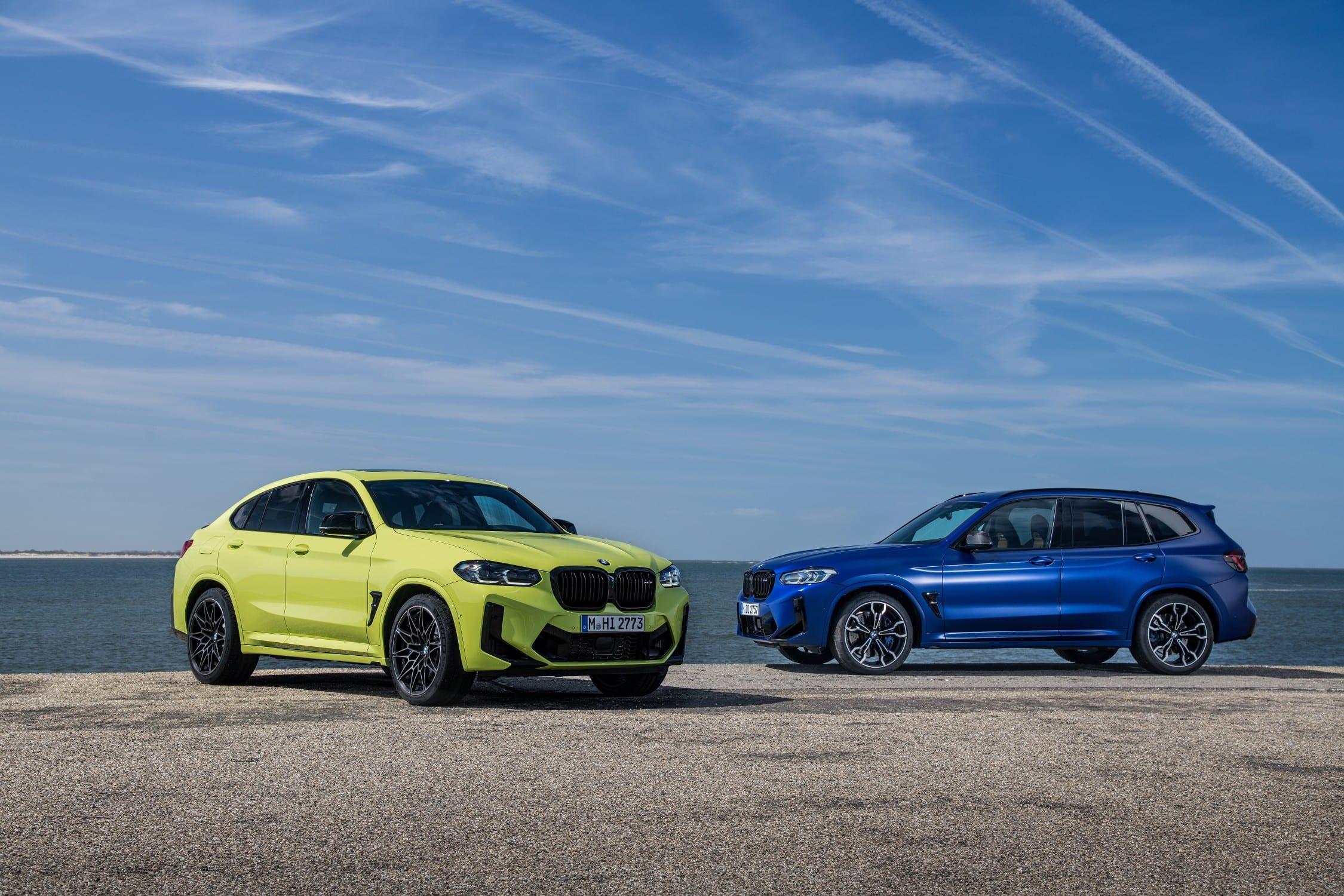 BMW X3 M Competition a nové BMW X4 M Competition