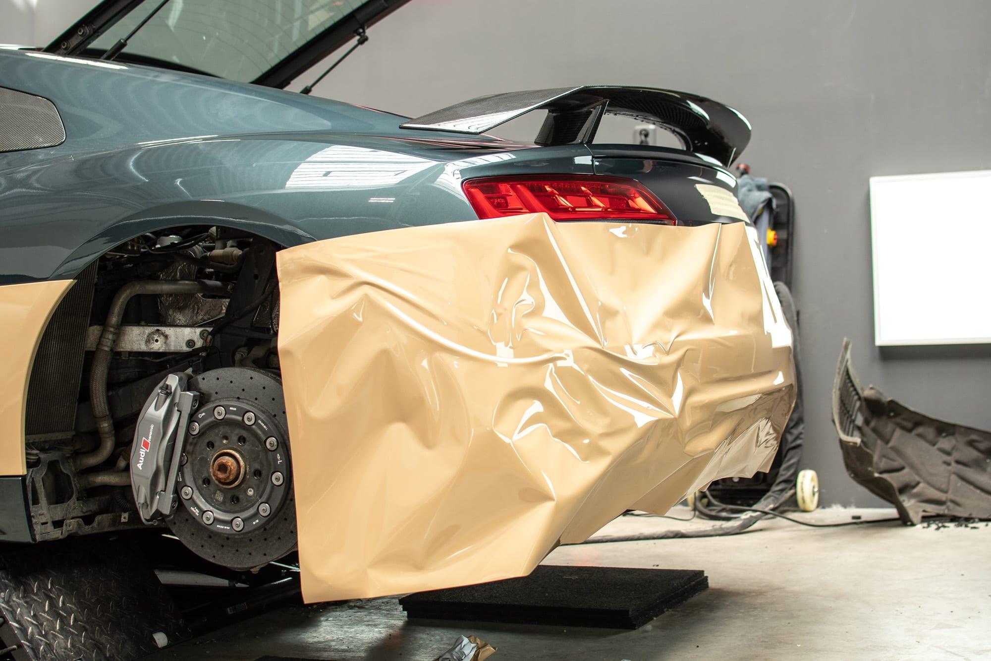 Audi A8 celopolep wrap Inozetek