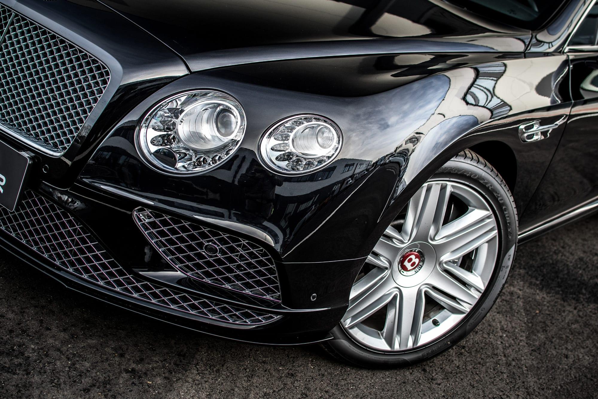 Bentley Continental GT světla