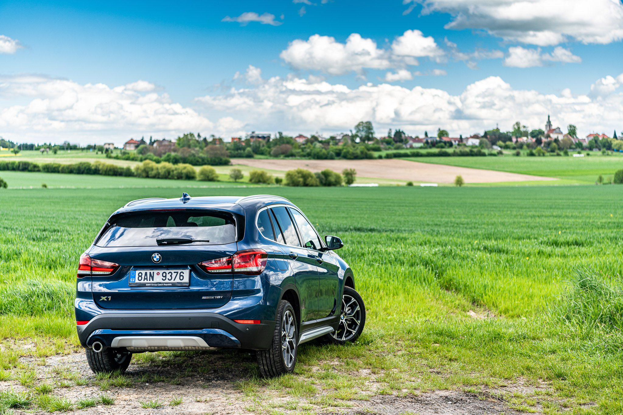BMW X1 test nového vozu
