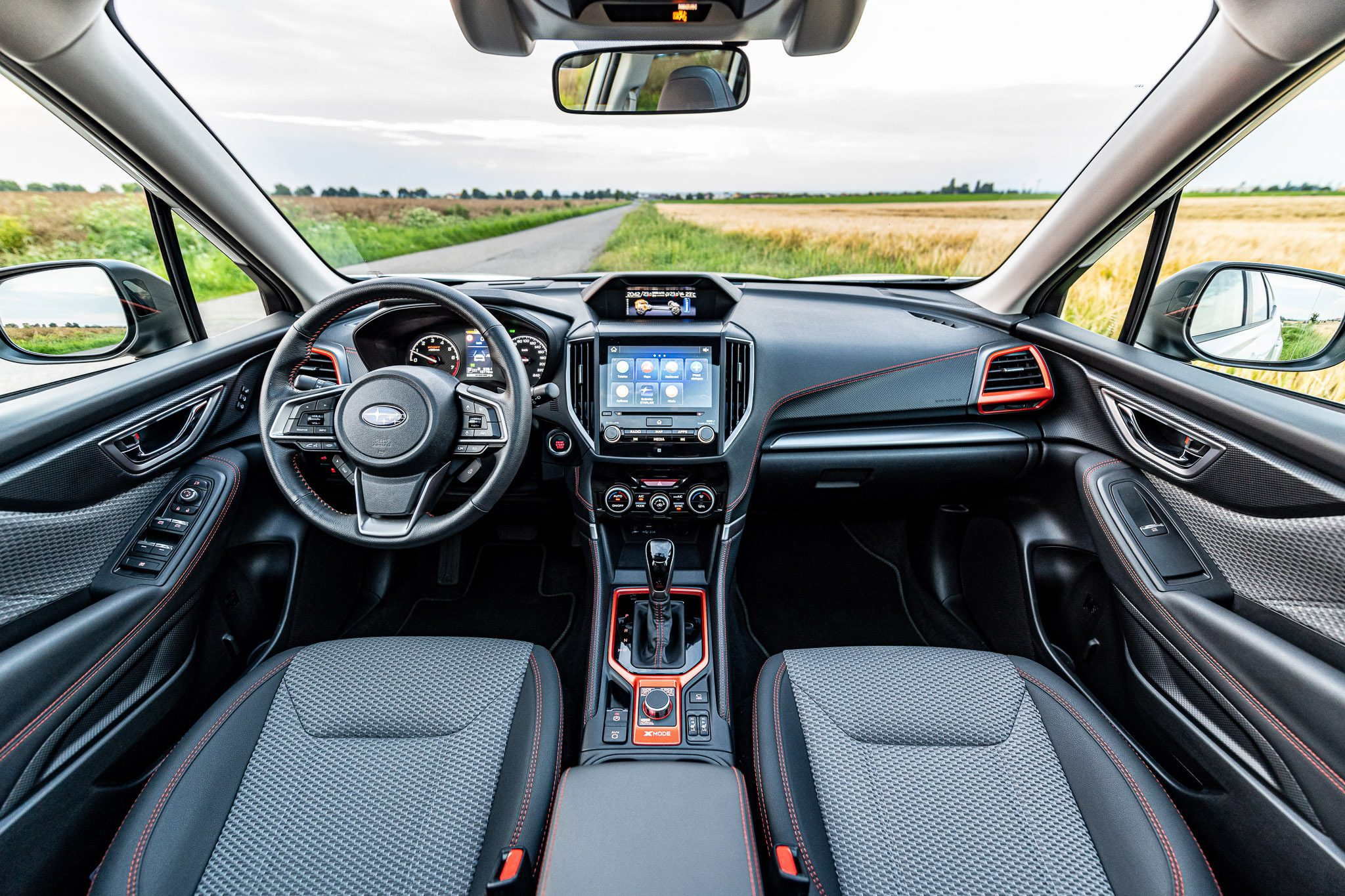 Subaru Forester Sport interiér