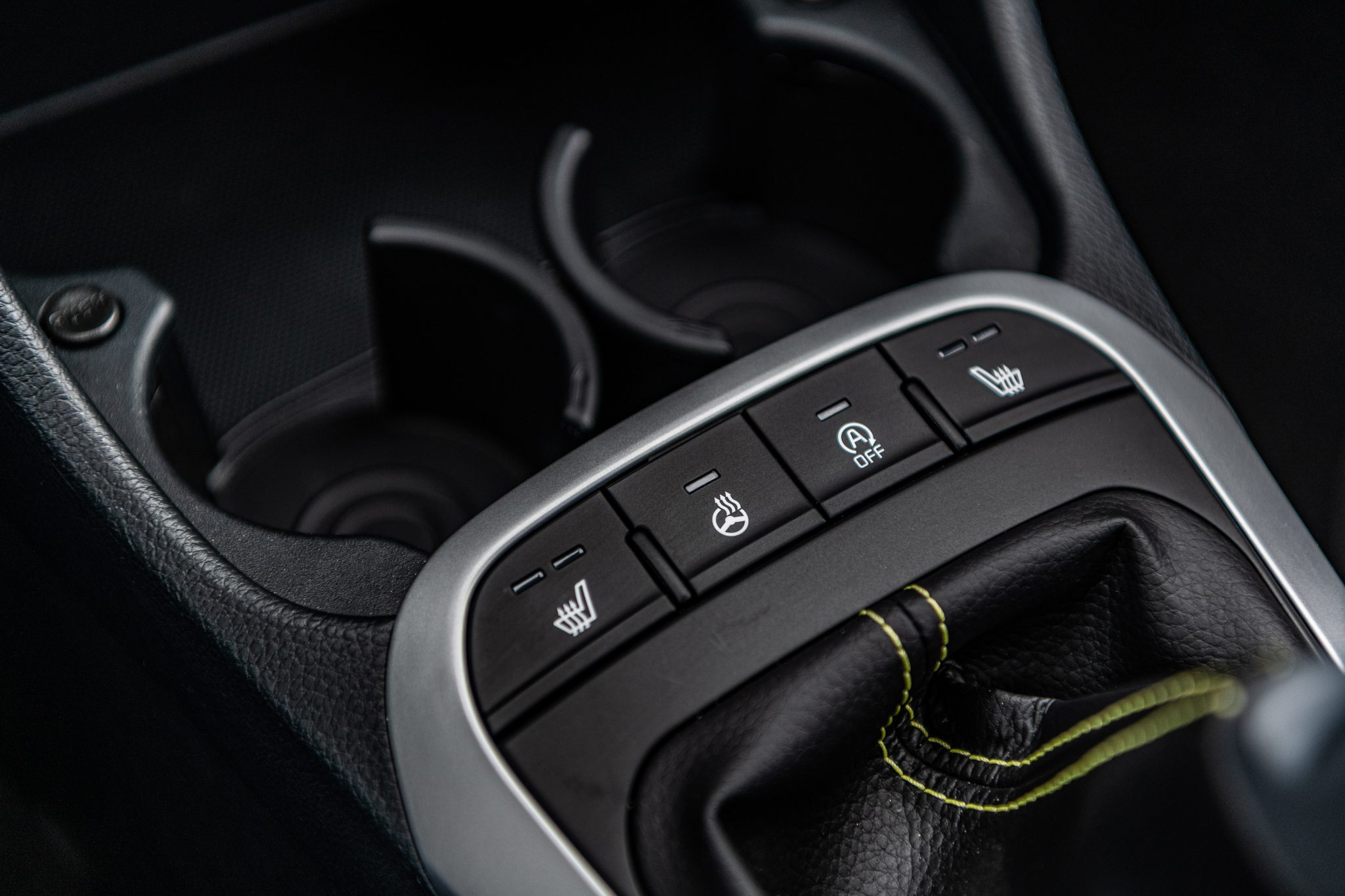 Kia Picanto interiér vozu
