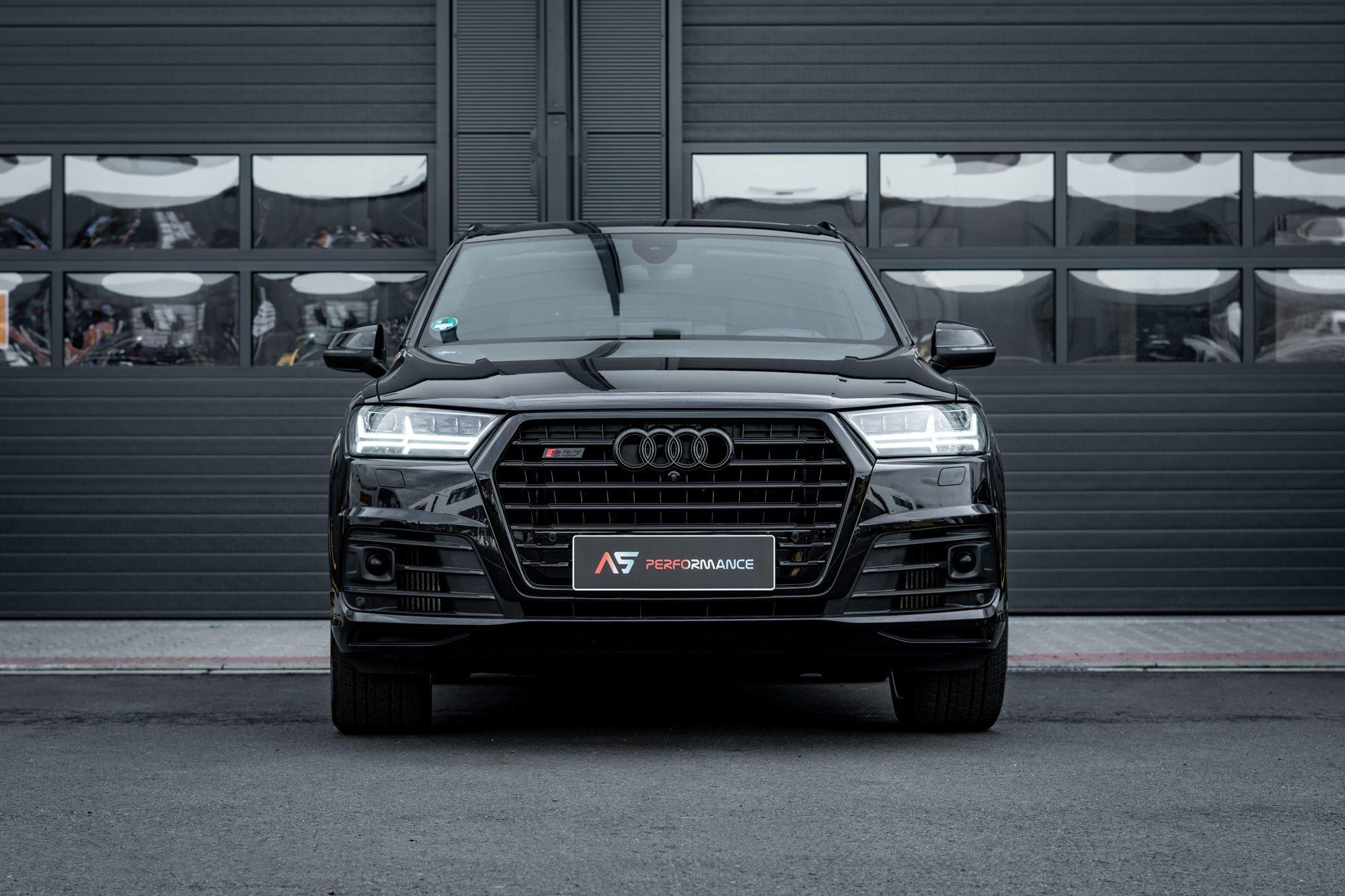 Audi SQ7 Dechromace