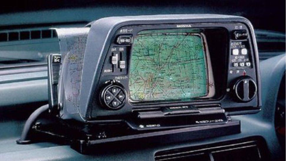 první navigace